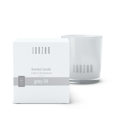 Scented Candle Janzen Grey 04