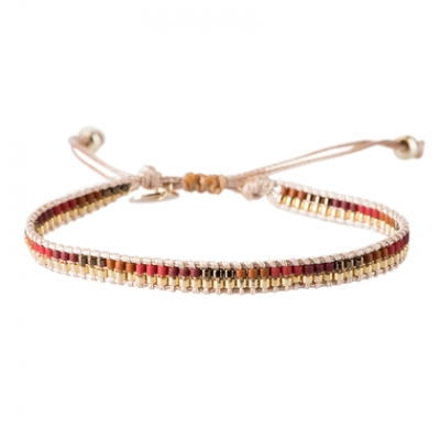 Jamie Red Gold armband